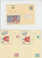 Publibel Neuve N° 2762-2786-2783-2784-2785 - Stamped Stationery