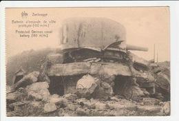 Zeebrugge - Batterie Allemande De Cote Protegee - Zeebrugge