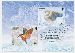 Jersey 2019 - Europa National Birds Miniature Sheet - Unmounted Mint NHM - Jersey
