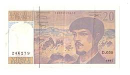 France. Billet De 20 Francs De 1997. Debussy. - 1992-2000 Dernière Gamme