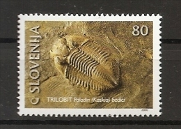 SLOVENIA 2000,SLOWENIEN,FOSIL,TRILOBIT  ,MNH - Fossiles