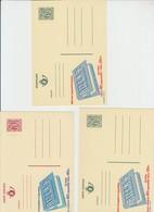 Publibel Neuve RIZLA  N° 2743-2789-2744 - Enteros Postales