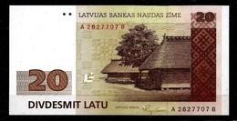 1992 Lettland Latvia / LETTONIA 20 LATS /LATI - UNC /UNZ - Lettonie