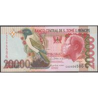 TWN - SÃO TOMÉ E PRÍNCIPE 67d - 20000 20.000 Dobras 10.12.2010 Prefix CA UNC - Sao Tome And Principe