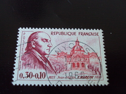 """à Partir De 1960-timbre Oblitéré N°1260     """" Charcot      """"      Cote    4    Net     2 - France"""