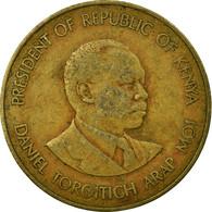 Monnaie, Kenya, 10 Cents, 1987, British Royal Mint, TB+, Nickel-brass, KM:18 - Kenya