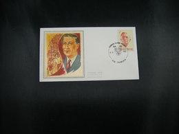 """BELG.1973 1690 FDC Soie-zijde-silk (Frameries) : """"Louis Pierard (1886-1952) """" - FDC"""