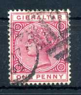 1886 GIBILTERRA N.9 USATO - Gibilterra