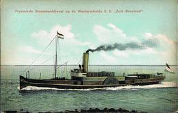 Netherland - 1909  Postal Card - Middelburg - Verviers (Belgium) Ship - Periode 1891-1948 (Wilhelmina)