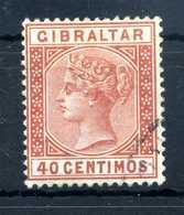 1889 GIBILTERRA N.25 USATO - Gibilterra