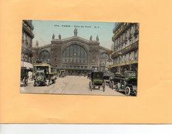 F0703 - PARIS - Gare Du Nord - Métro Parisien, Gares
