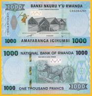 Rwanda 1000 Francs P-new 2019 UNC Banknote - Rwanda