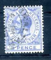 1921-32 GIBILTERRA N.78 USATO - Gibilterra