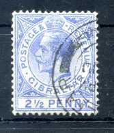 1912-24 GIBILTERRA N.66 USATO - Gibilterra