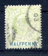 1903 GIBILTERRA N.37 USATO - Gibilterra