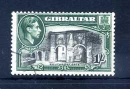 1938-51 GIBILTERRA N.110 USATO - Gibilterra