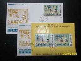 South Korea, R.O.K.: Souvenir Sheet & Stamp Ca-FDC (#TN10) - Korea, South