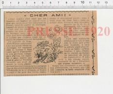 Presse 1920 Pigeon Voyageur Cher Ami Capitaine John L. Carney Guerre 14-18 Américains Distinguished Service Cross 216E7 - Vieux Papiers