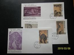 South Korea, R.O.K.: Stamp Ca-FDCs (#TN11) - Korea, South