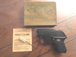 Pistolet D'alarme PERFECTA  Modele G  Calibre 6 Mm - Armes Neutralisées