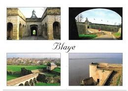 Blaye Une Vue De L' Entrée Les Remparts Une Vue Générale De La Ville Aperçue Des Remparts La Tour De L' éguillette - Blaye