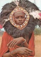 Kenya - Masai Moran Dancer - Timbres - Kenya