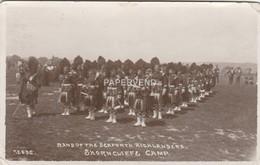 Kent  FOLKSTONE Shorncliffe Camp Seaforth Highlander's Band  RP  K408 - Ramsgate