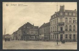 +++ CPA - SOTTEGEM - ZOTTEGEM - Place De La Station - Statieplein - Café Restaurant - Nels   // - Zottegem
