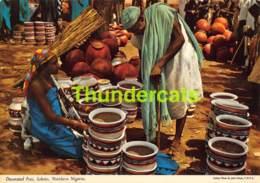 CPSM NIGERIA PHOTO JOHN HINDE DECORATED POTS SOKOTO NORTHERN NIGERIA - Nigeria