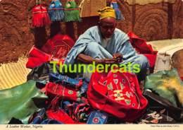 CPSM NIGERIA PHOTO JOHN HINDE A LEATHER WORKER - Nigeria