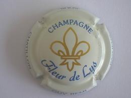 Capsule Champagne Remi Guy, Crème Foncé, Or Et Bleu, Nouvelle! - Ohne Zuordnung