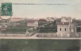 78700 CONFLANS SAINTE HONORINE - PANORAMA En 1908 - Conflans Saint Honorine