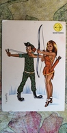 """THE ARCHER"" - Archery - OLD PC 1960S - Zodiac - SAGITARIUS - Sexy - Tir à L'Arc"