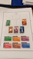 Turchia PO 1938 Pres.Ataturk Insegna Alfabeto Nuovo  Scott.799/804+Nuovi/Usati + See Scan On Scott.Page; - Nuovi
