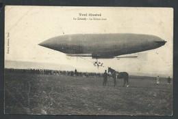 +++ CPA - France 59 - TOUL Illustré - LE LEBAUDY - Le Lachez Tout - Dirigeable - Zeppelin - Avion Aviation  // - Dirigeables