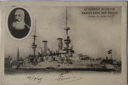 Cuirasse Allemand - Kaiser Karl Der Grosse (Anvers 1905) 1905 - Militaria