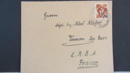Frz-Zone: Bedarfs-Brief Mit 6 Fr. Auf 24 Pf Einzelfrankatur Aus Rohrbach Vom 16.1.48 Knr: 133 - Zone Française