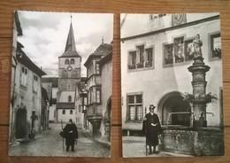 Lot De 3 Cartes Postales / TURCKHEIM  Le Veilleur De Nuit - Turckheim
