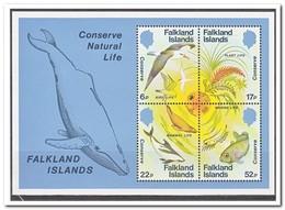 Falkland Eilanden 1984, Postfris MNH, Birds, Fish - Falklandeilanden
