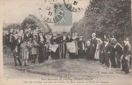 NOCE BRETONNE AU PAYS DE CORNOUAILLES En 1921 - Noces