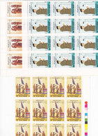 JORDAN 1986-30TH Ann Accession King 3 Stamps Cpl.set MNH-Bloc's Of 12 Corners-Red. Price- SKRILL PAYMENT ONLY - Jordan