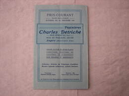 Catalogue 1925/1926 Pépinières Charles Détriché ANGERS 80 Pages 15X24 Excellent état , Voir Photos - F. Arbres & Arbustes
