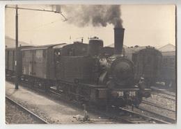 Locomotive Old Photo B190301 - Treni