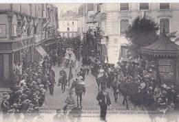 Carte 1911 Bourges :3 Grandes Journées Régionalistes ,septembre : Le Cortège - Bourges