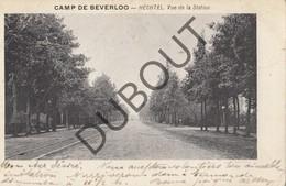 Postkaart/Carte Postale KAMP VAN BEVERLO HECHTEL Vue De La Station  (O390) - Leopoldsburg (Camp De Beverloo)