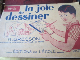 "N°3 - LA JOIE DE DESSINER - R. BRESSON- LE CLOWN ""CLO-CLO3 - Tools & Finish"