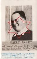 Photo Albert NICOLET, Assassiné Le 27 Novembre 1945 Par 2 Cheminots De La Police SNCF (A206, Ww1, Wk 1) - History