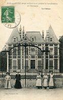 BAR SUR SEINE - Le ChâteauOccupé Militairement Pendant Les Manifestations De Champagne Femmes Devant La Grille - Bar-sur-Seine