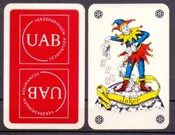 Belgie - Speelkaarten - ** 1 Joker - UAB Verzekeringen - Cartes à Jouer Classiques
