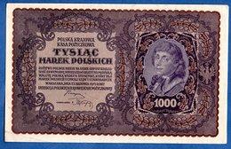 Pologne  -  1000 Marek   23/8/1919  -  Pick  # 29  -  état  TTB+ - Poland